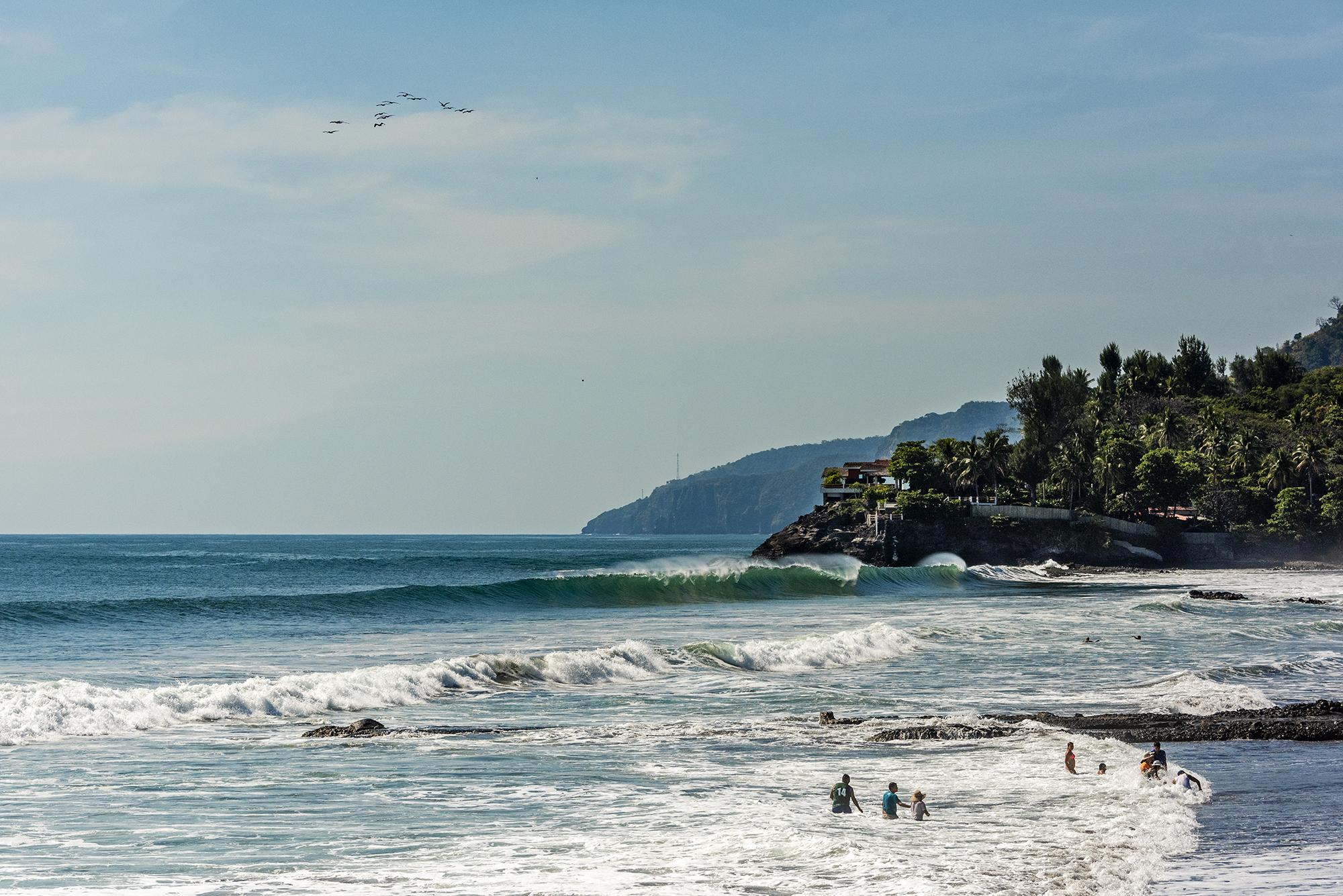 Playa El Cocal y Conchalio El Salvador
