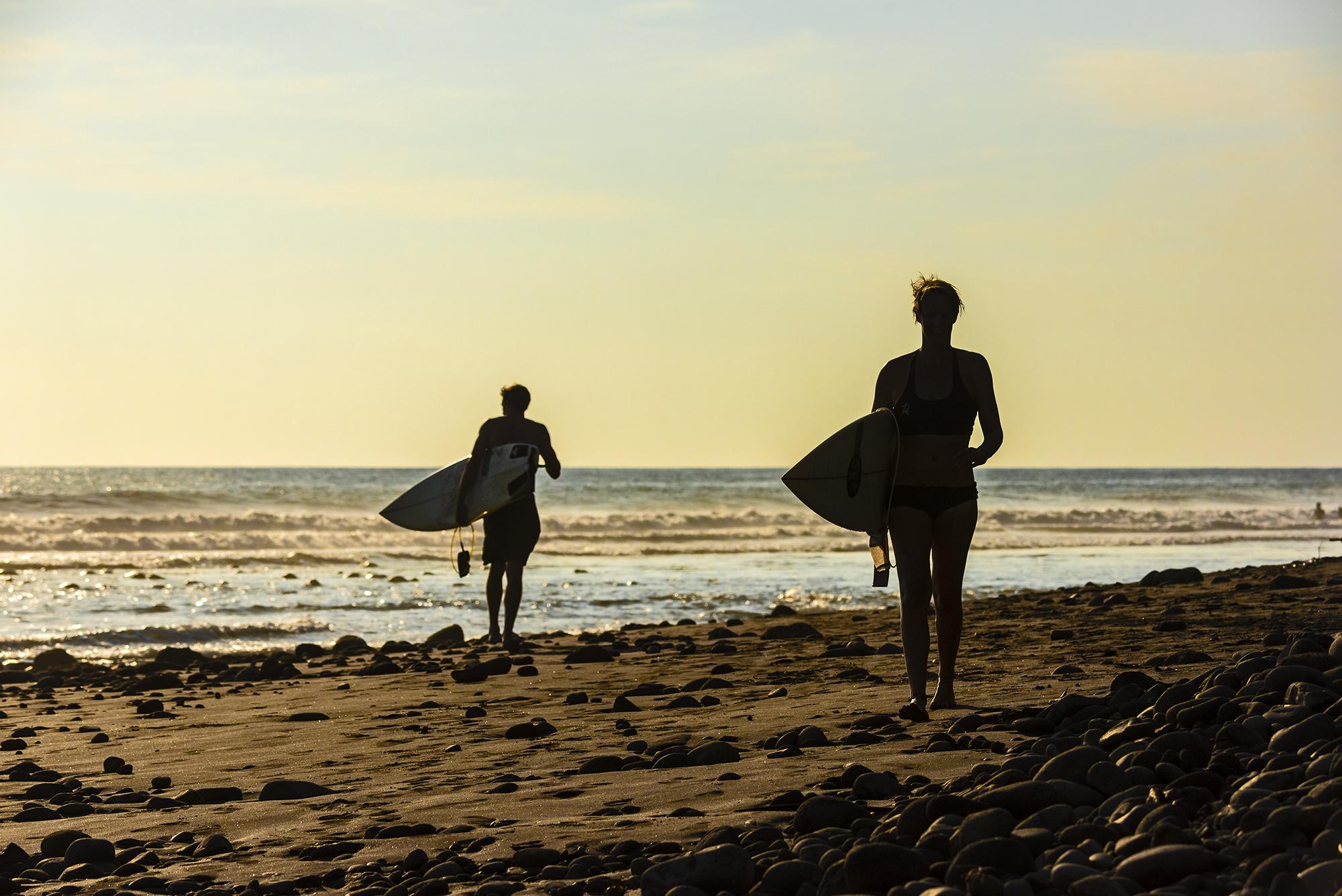 Playa El Pimental El Salvador