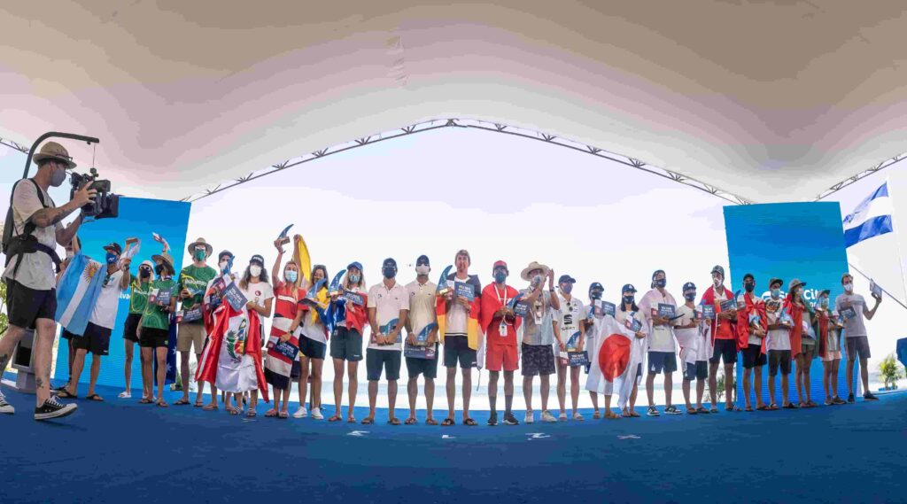 Tokyo Olympics classified surfers